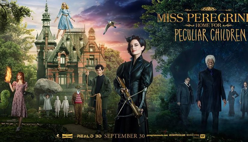 MISS PEREGRINE'S HOME FOR PECULIAR CHILDREN – IS ITSELF… PECULIAR