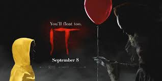 "IT – FIRST IN THE DUOLOGY – REPETITIVE SCARES WATER ""IT"" DOWN BY ""IT""S OWN UNGAINLY LENGTH"