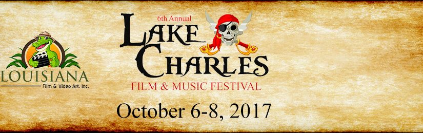 YOUR LAST CHANCE TO SEE WORKS AT THE 2017 LAKE CHARLES FILM & MUSIC FESTIVAL IS OCTOBER 8 FROM 11 AM – 5 PM.