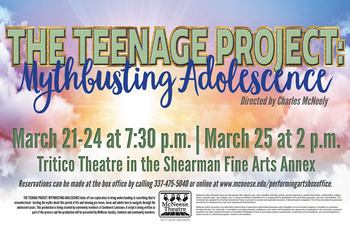 THE TEENAGER PROJECT: MYTHBUSTING ADOLESCENCE – A BOLD THEATER EXPERIMENT