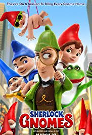 SHERLOCK GNOMES – FUN TAKE OFF ON THE CLASSIC HOLMES MYSTERY