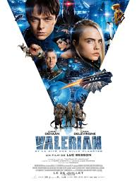 VALERIAN – GORGEOUS AND SPECTACULAR SCI FI WITH AN INTRIGUING PLOT