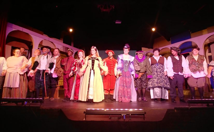TAMING OF THE SHREW – CLASSIC COMEDY ON STAGE AT LAKE CHARLES LITTLE THEATRE